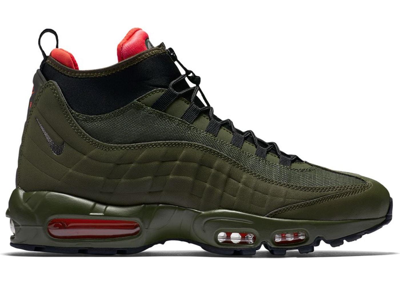 Nike Air Max 95 Sneakerboot Dark Loden - 806809-300