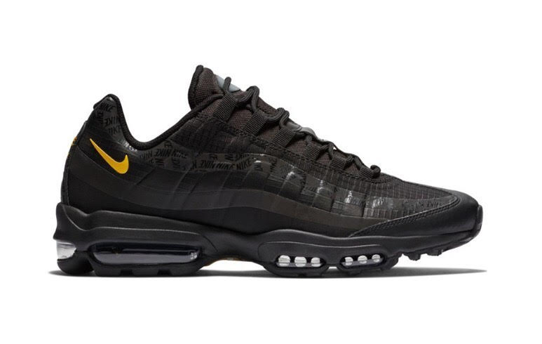 Nike Air Max 95 Ultra Black Amarillo