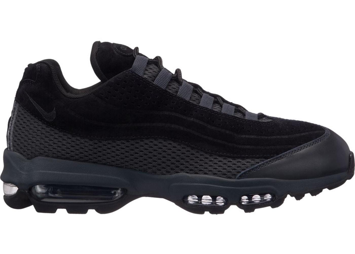 Nike Air Max 95 Ultra Premium Breathe Triple Black - AO2438-002