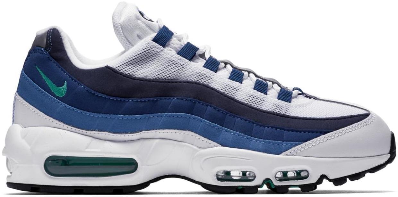 Nike Air Max 95 White Slate Blue