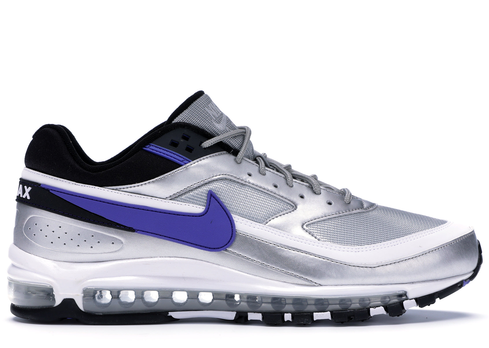 Nike Air Max 97/BW Metallic Silver Persian Violet - AO2406-002
