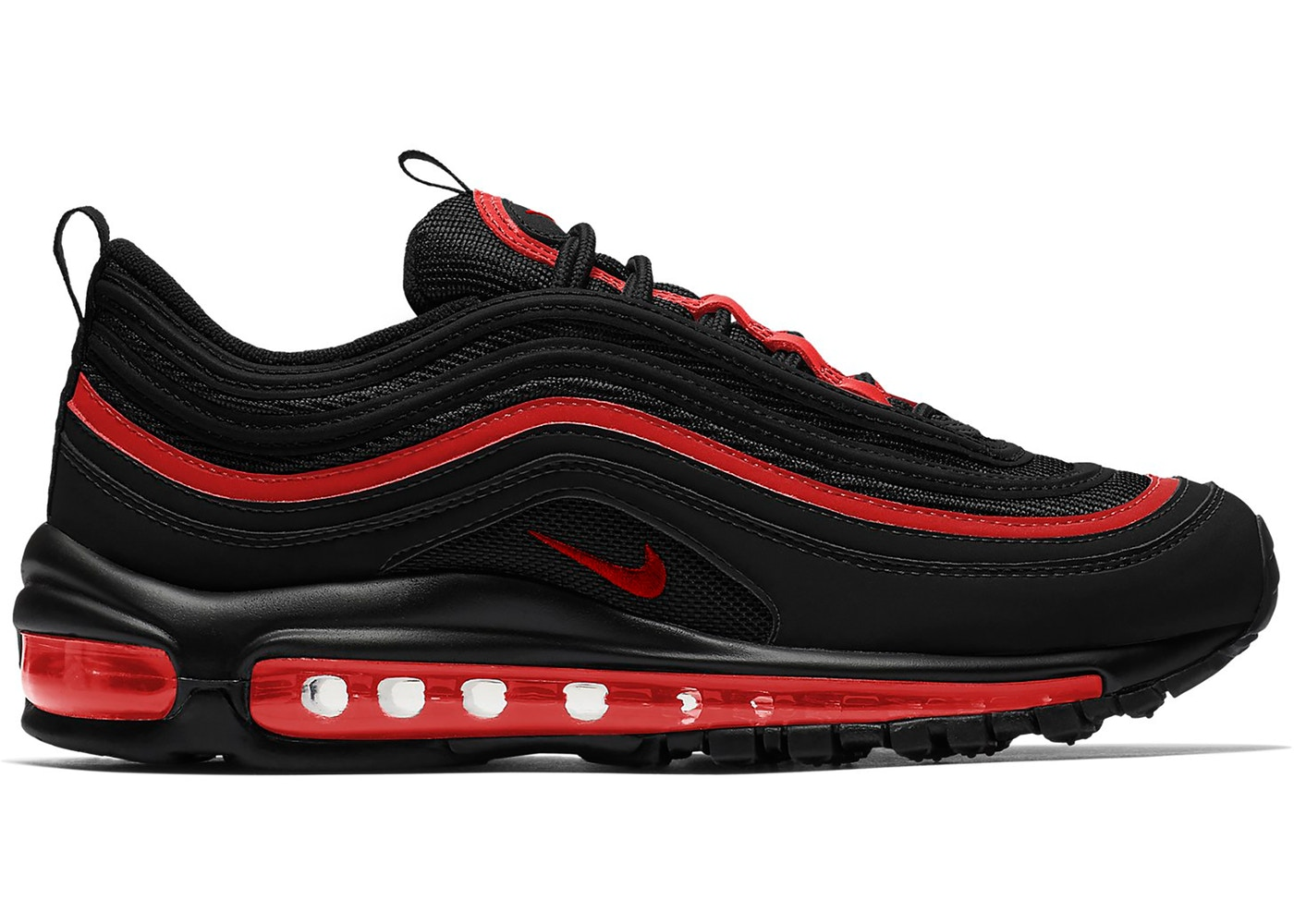 Nike Air Max 97 Black Chile Red (GS)