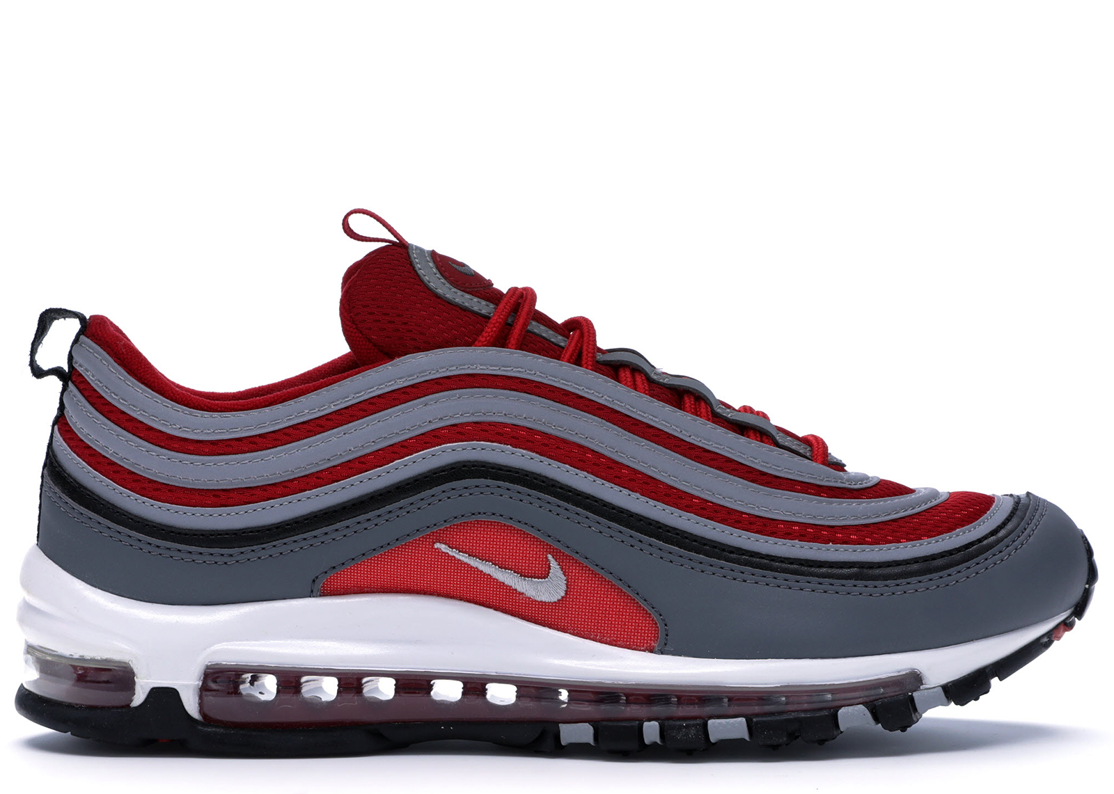 Nike Air Max 97 Dark Grey Gym Red - 921826-007