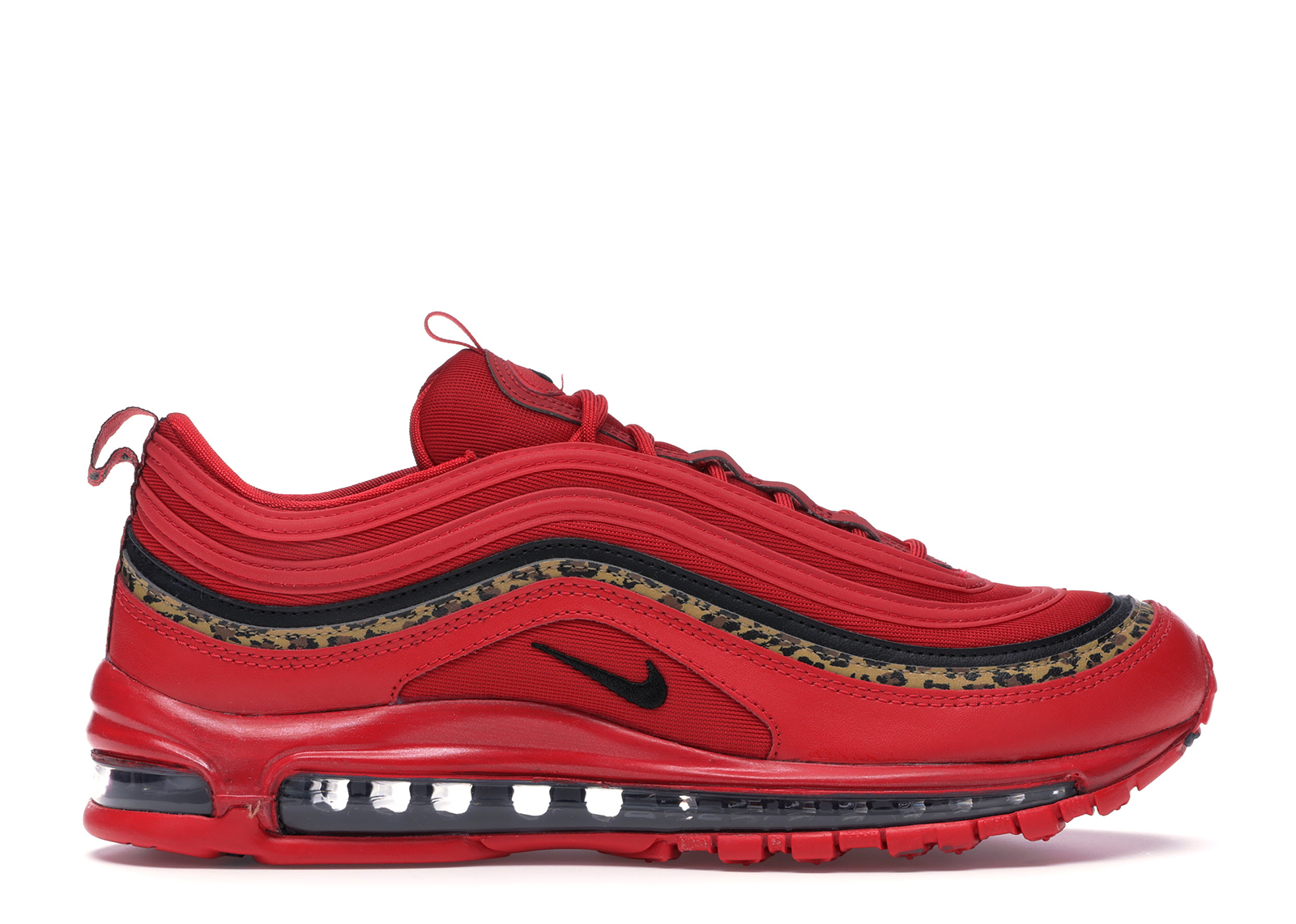 Nike Air Max 97 Leopard Pack Red (W) - BV6113-600