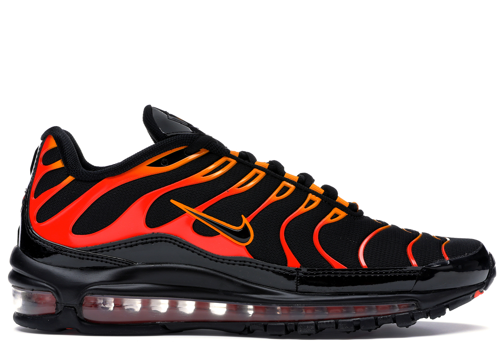Nike Air Max 97 Plus Black Shock Orange - AH8144-002