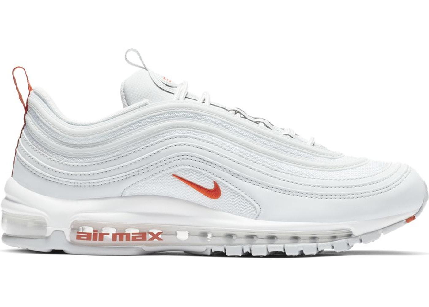 Nike Air Max 97 Pure Platinum Team Orange