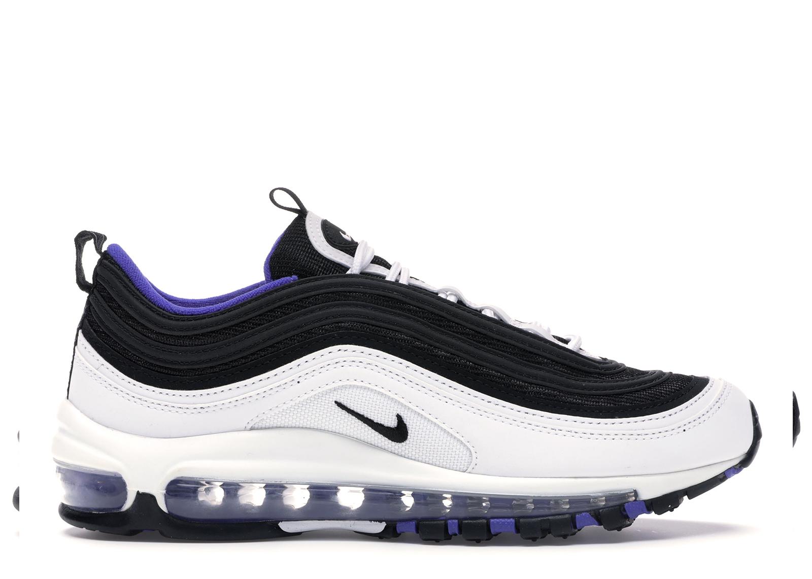 Nike Air Max 97 White Black Persian Violet (GS) - 921522-102