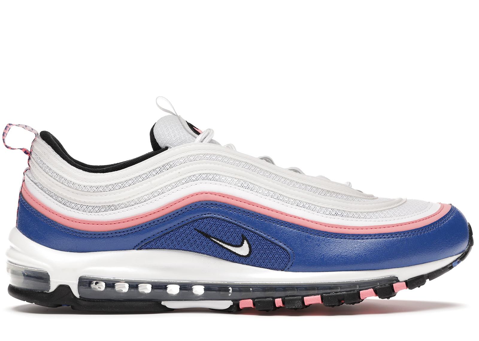 Nike Air Max 97 White Game Royal Pink Gaze - 921826-107
