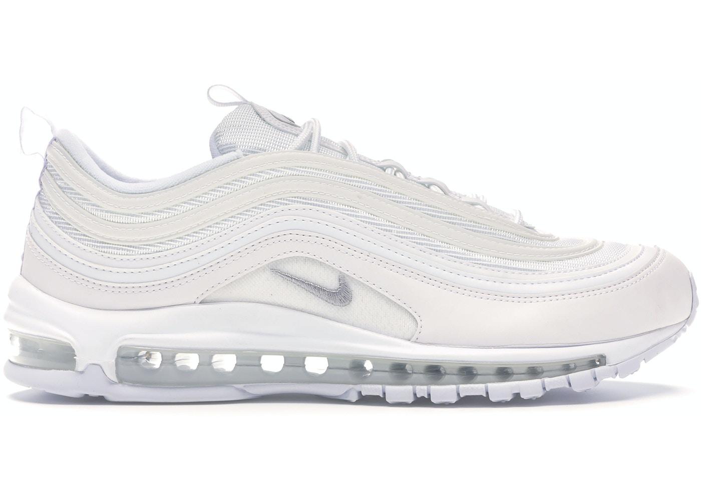 Último estático mensual  Nike Air Max 97 Triple White Wolf Grey - 921826-101
