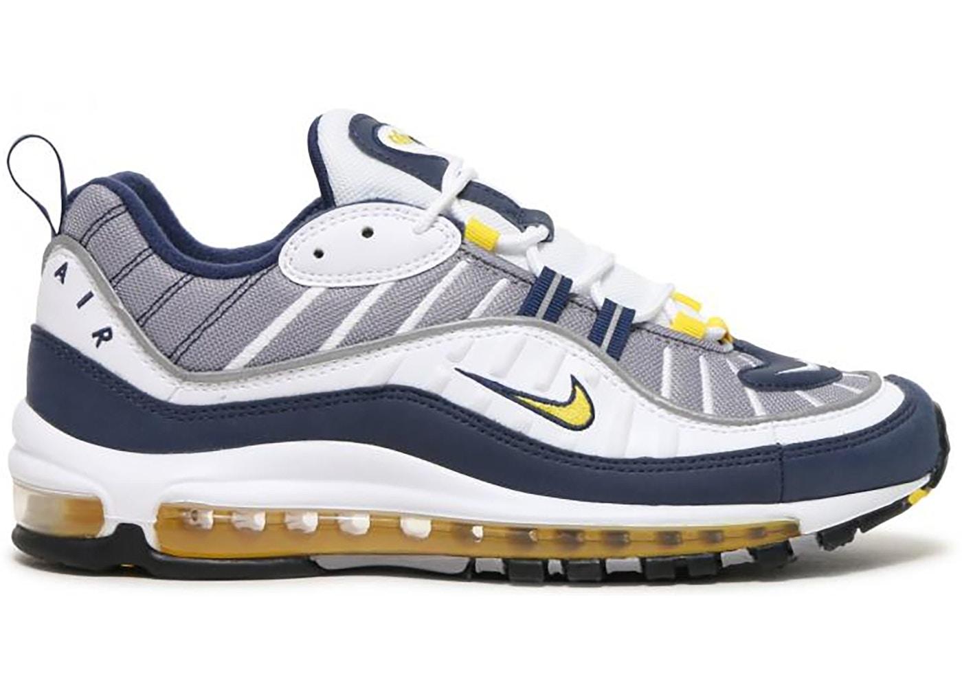 Nike Air Max 98 Tour Yellow Grey