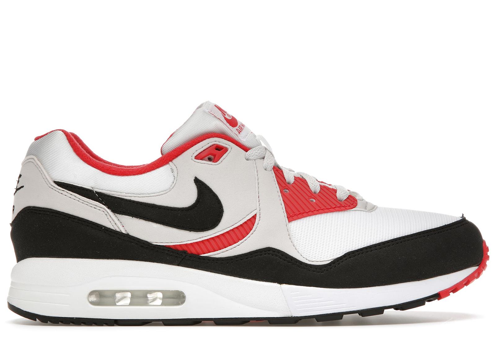 Nike Air Max Light White Black Grey Red