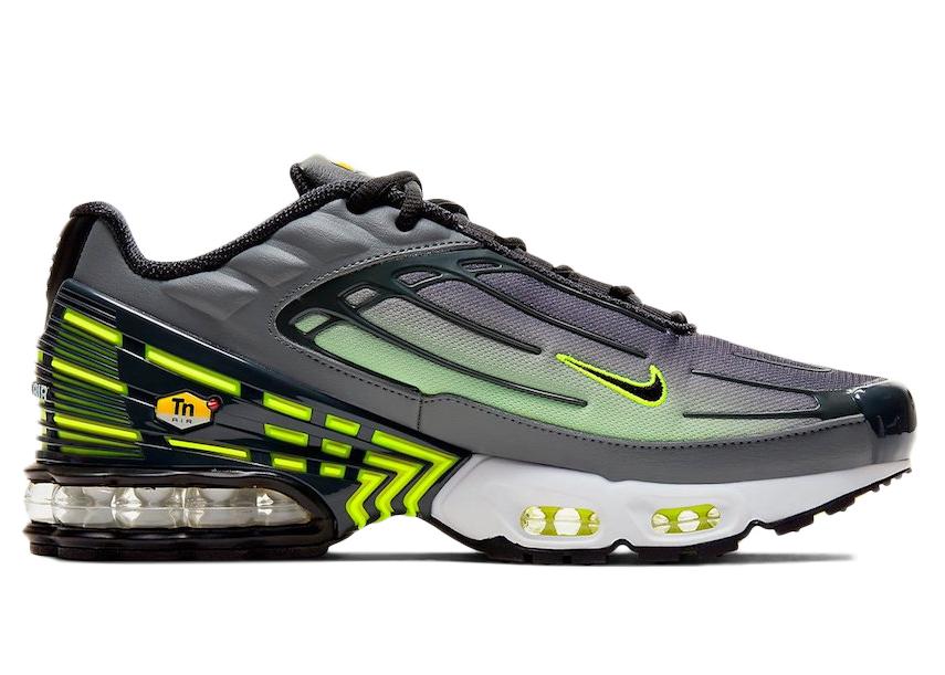 Nike Air Max Plus 3 Smoke Grey Lemon Venom