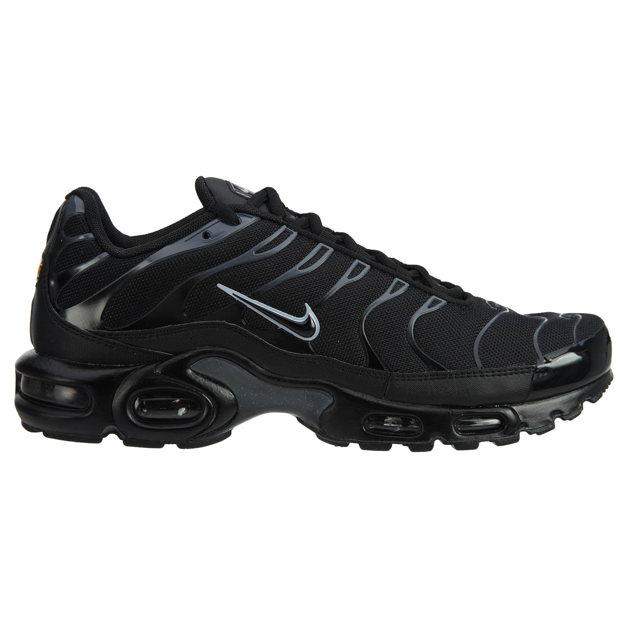 Nike Air Max Plus Black/Black/Pure Platinum - 852630-011