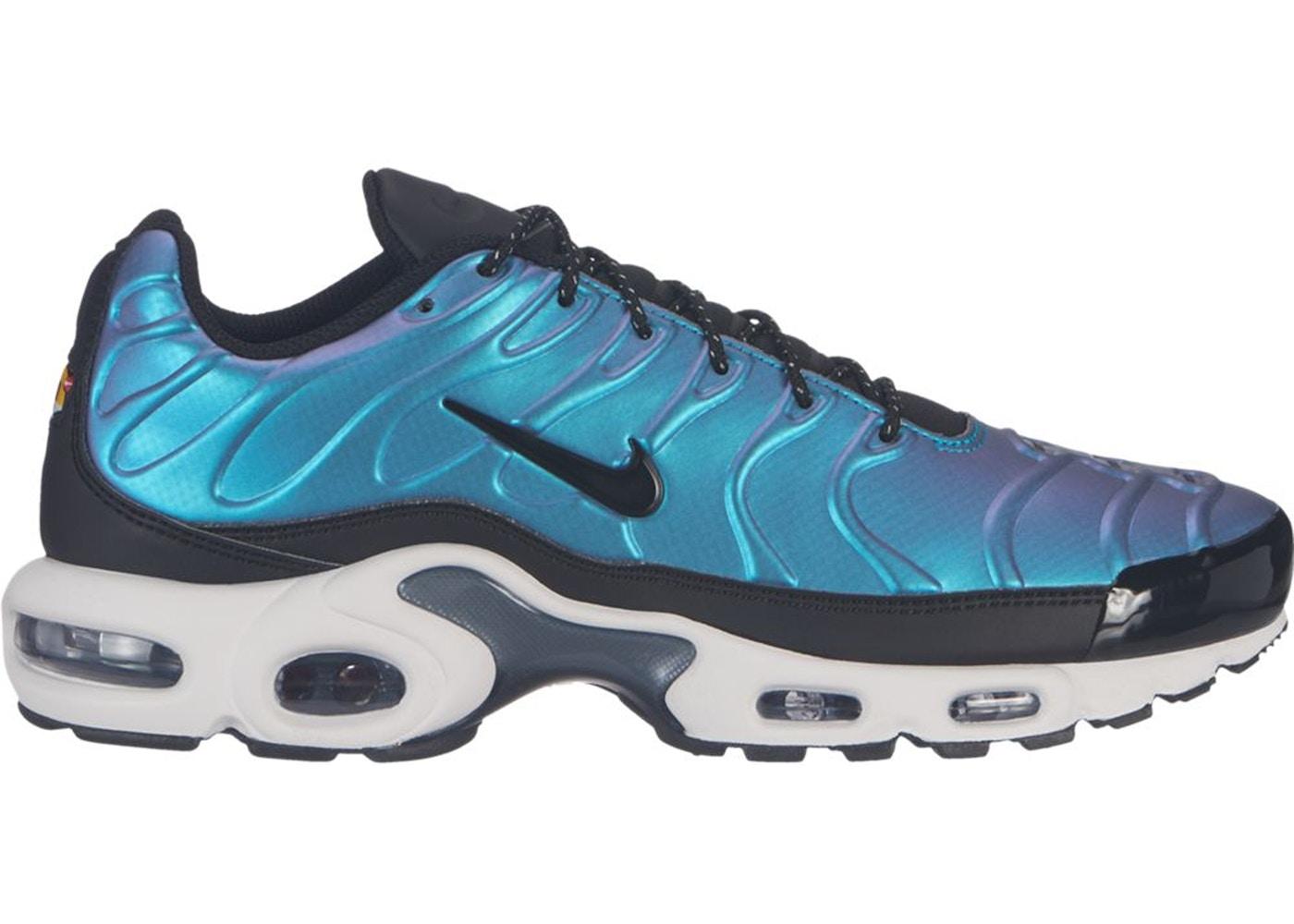 Nike Air Max Plus Liquid Metal Metallic Blue Dusk - AJ2013-401