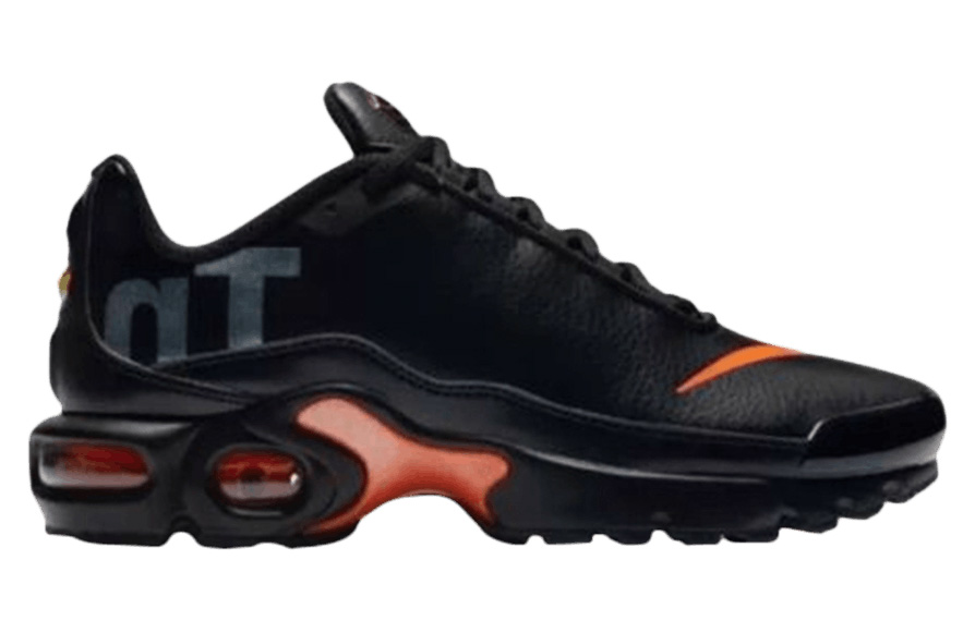 Nike Air Max Plus TN SE Black Orange (GS) - AR0005-001