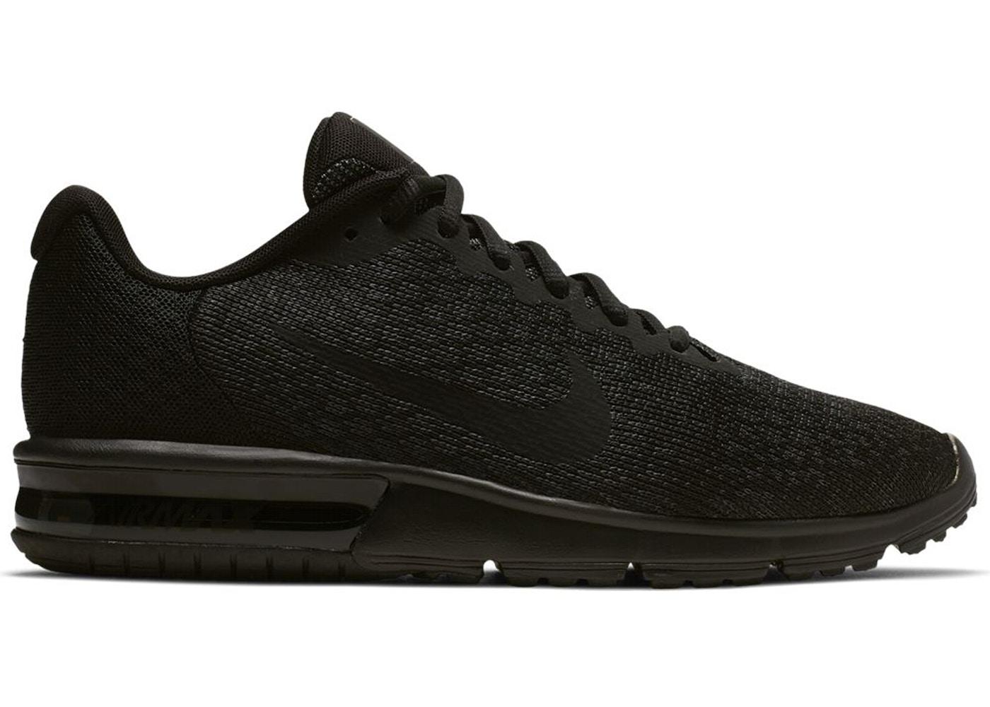 Nike Air Max Sequent 2 Black (W) - 852465-015