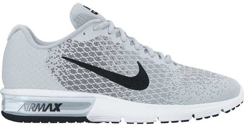 Nike Air Max Sequent 2 Pure Platinum Black (W) - 852465-001