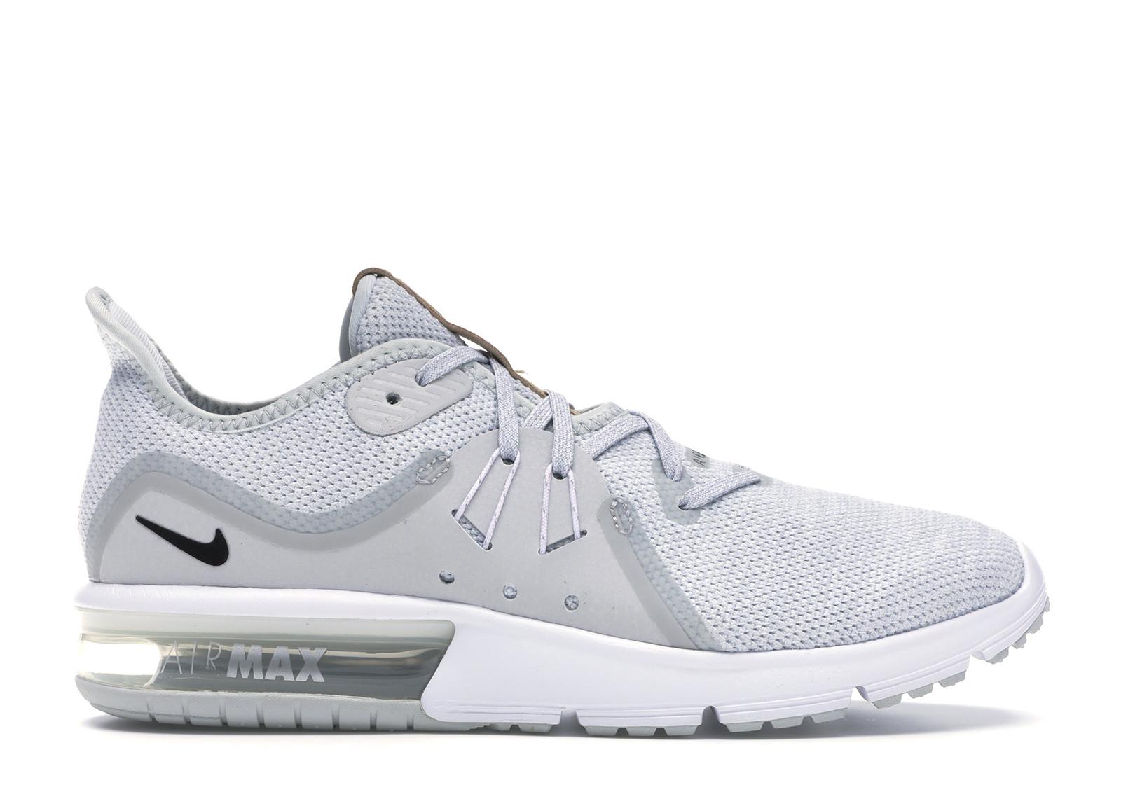 Nike Air Max Sequent 3 Pure Platinum Black-White (W) - 908993-008