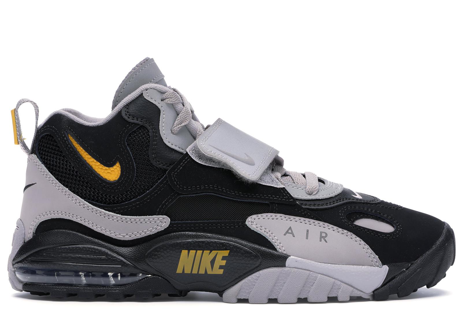 Nike Air Max Speed Turf Black Grey Yellow