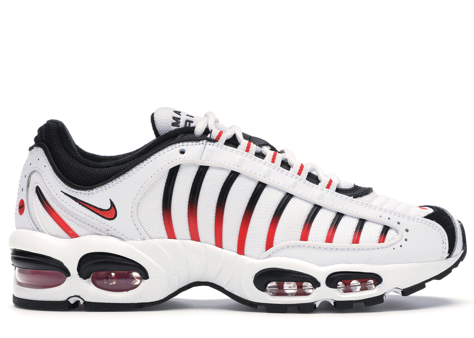 Nike Air Max Tailwind 4 White Black Red