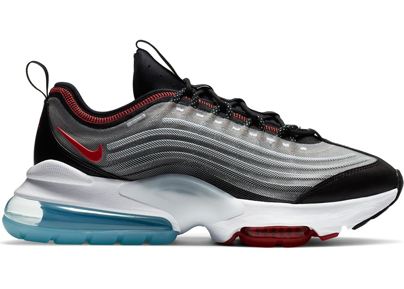 Nike Air Max ZM950 White Black Chile Red