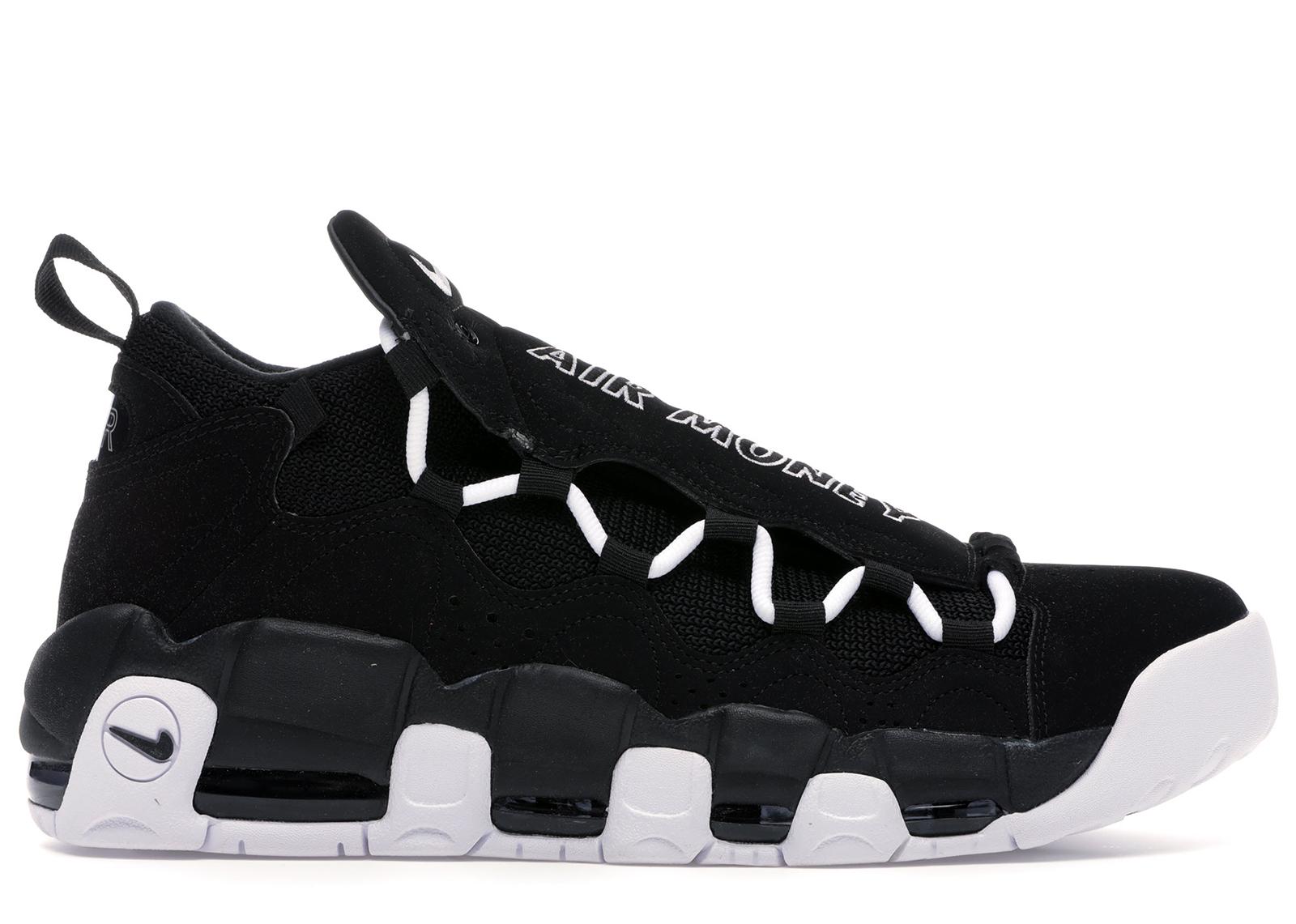 Nike Air More Money Black White