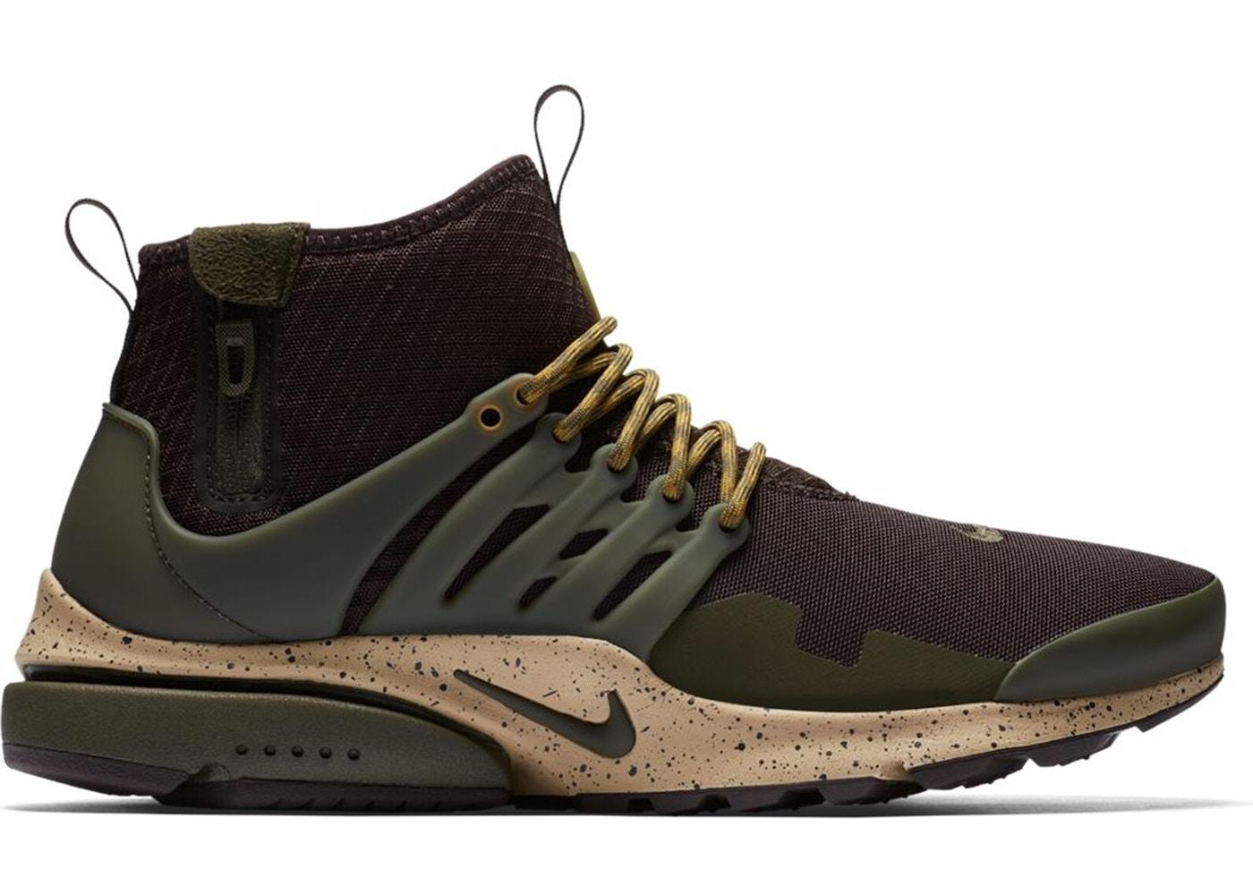 Nike Air Presto Mid Utility Velvet Brown