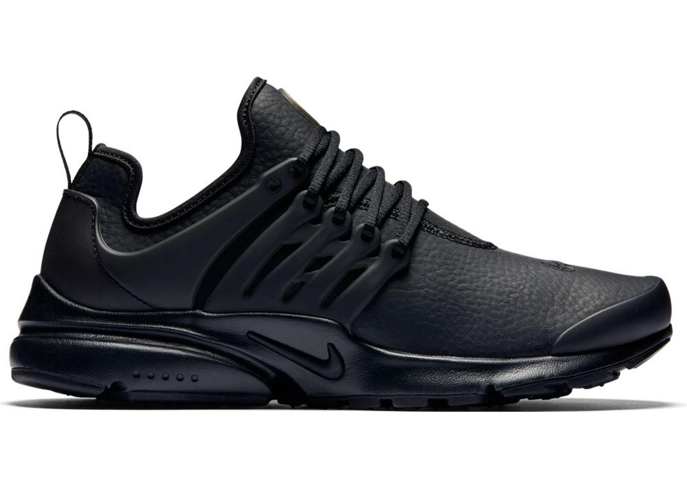 Nike Air Presto Premium Black Leather (W) - 878071-002