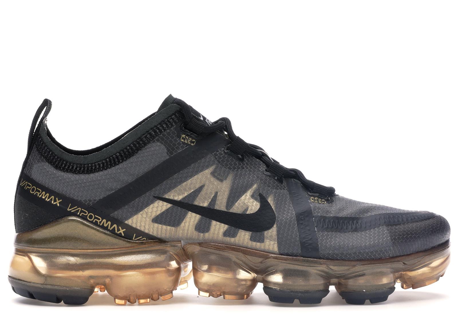 Nike Air VaporMax 2019 Black Metallic Gold