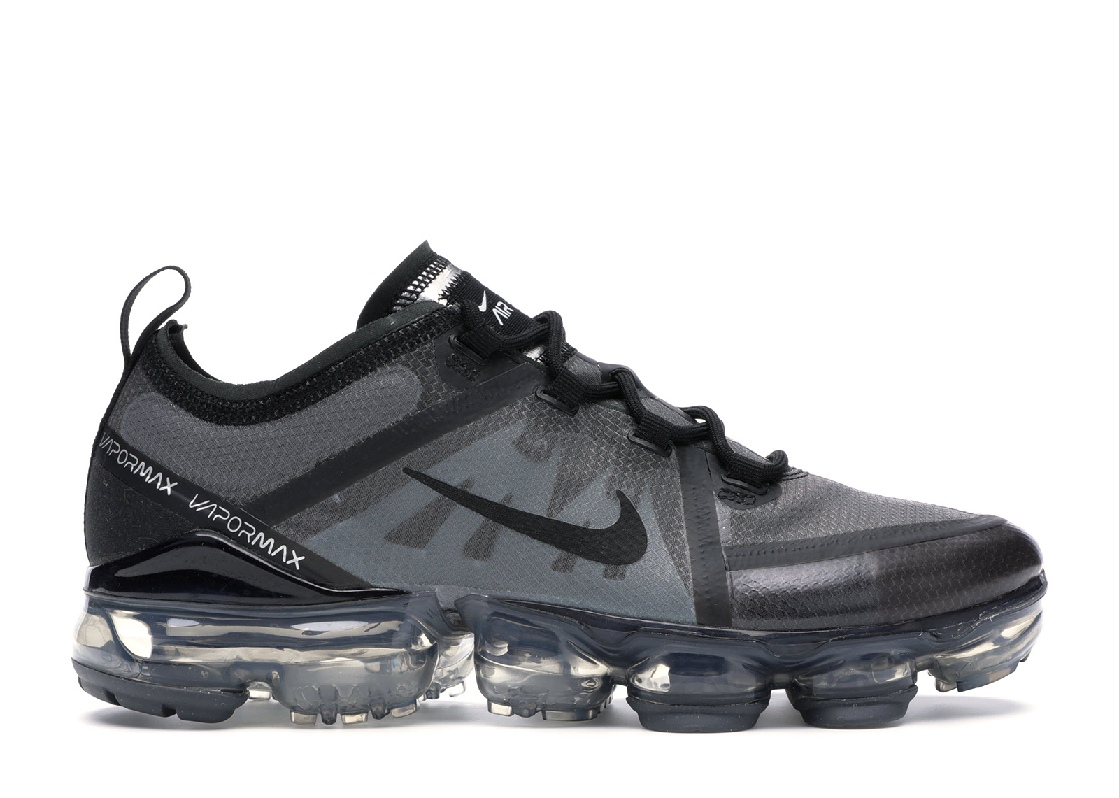 Nike Air VaporMax 2019 Triple Black (GS) - AJ2616-001