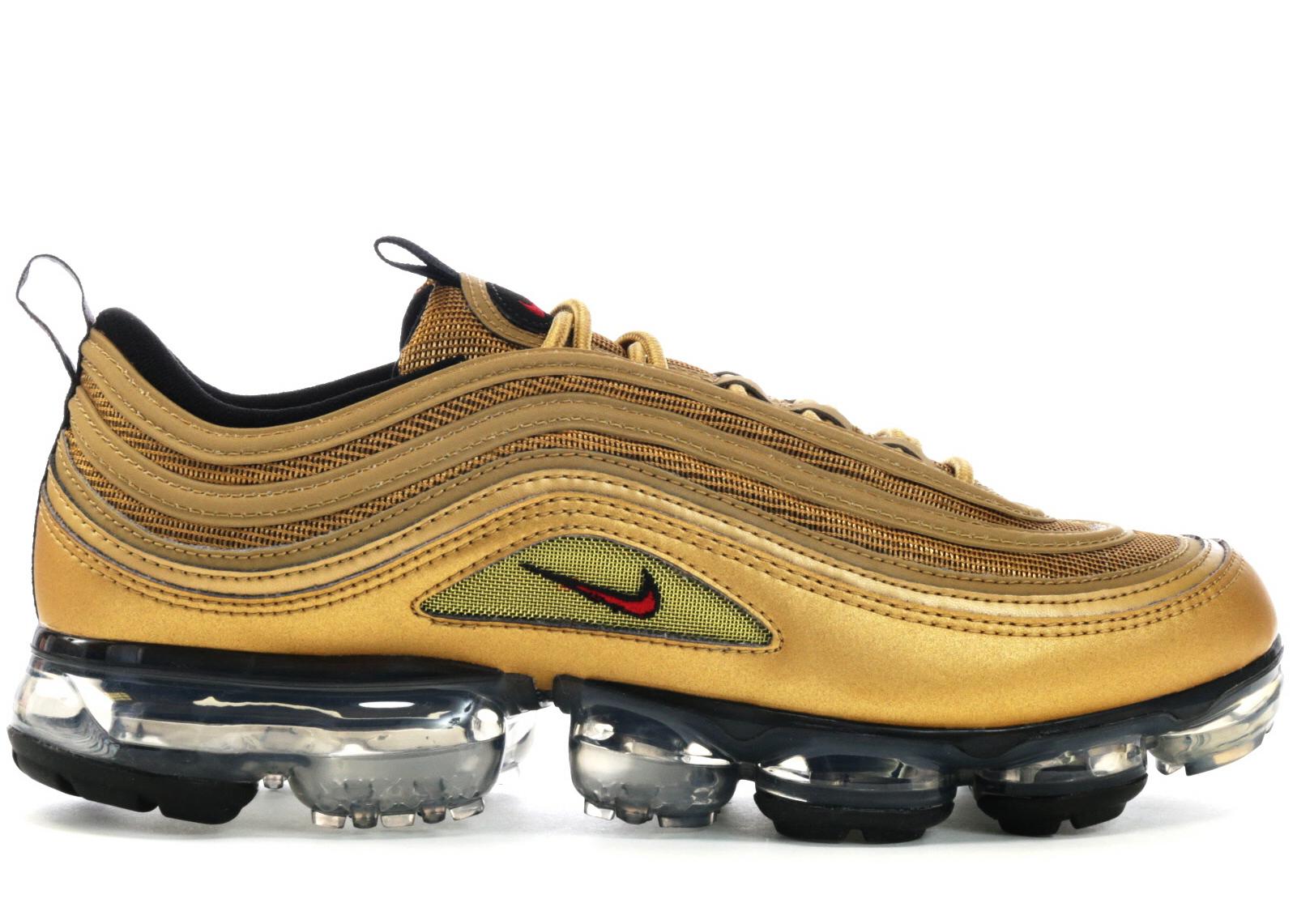 Nike Air VaporMax 97 Metallic Gold - AJ7291-700
