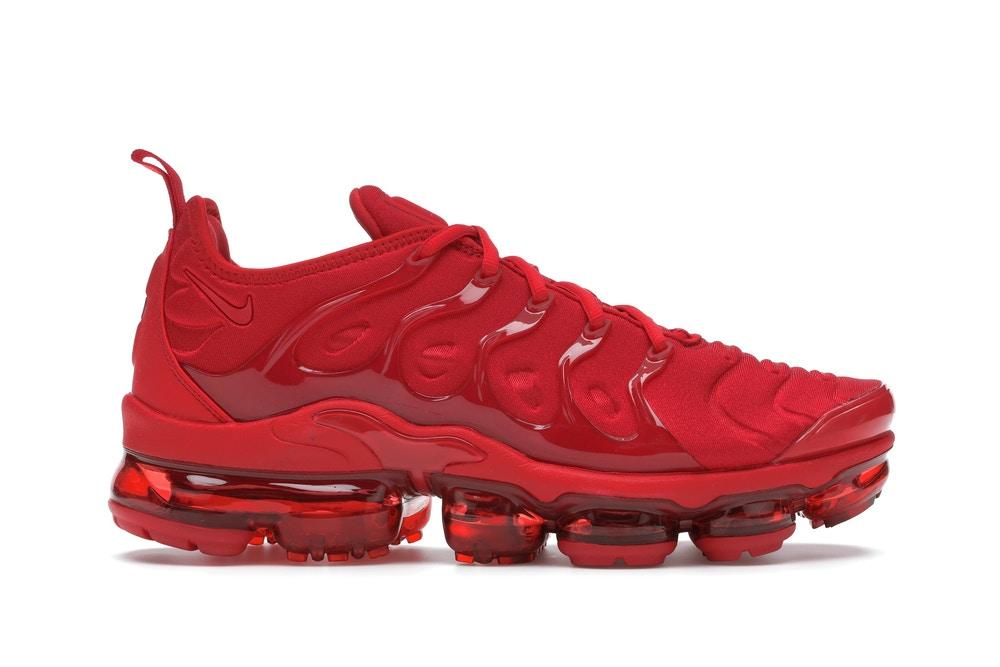 Nike Air VaporMax Plus Triple Red - CW6973-600