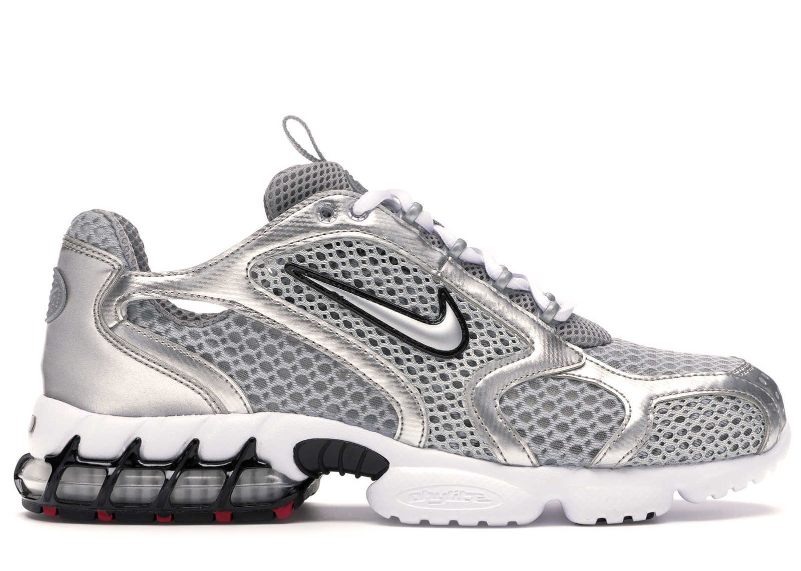 Nike Air Zoom Spiridon Cage 2 Metallic Silver - CJ1288-001