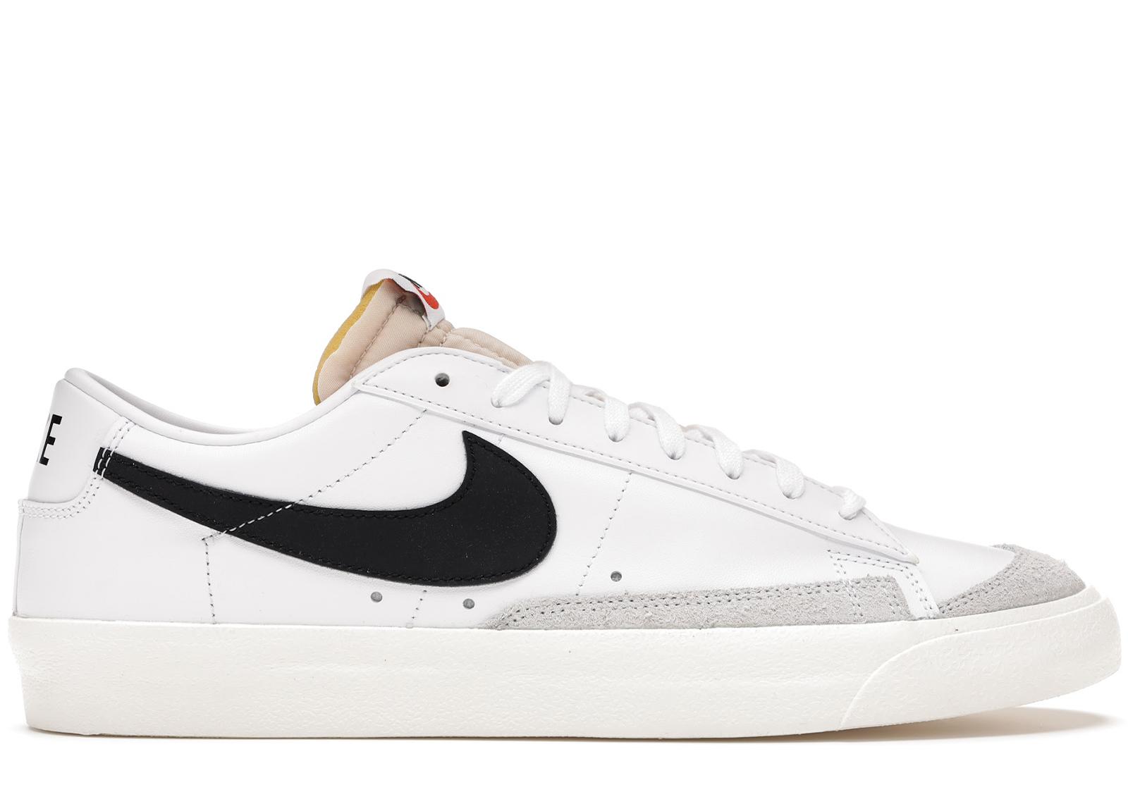 Nike Blazer Low 77 Vintage White Black - DA6464-101/DA6364-101