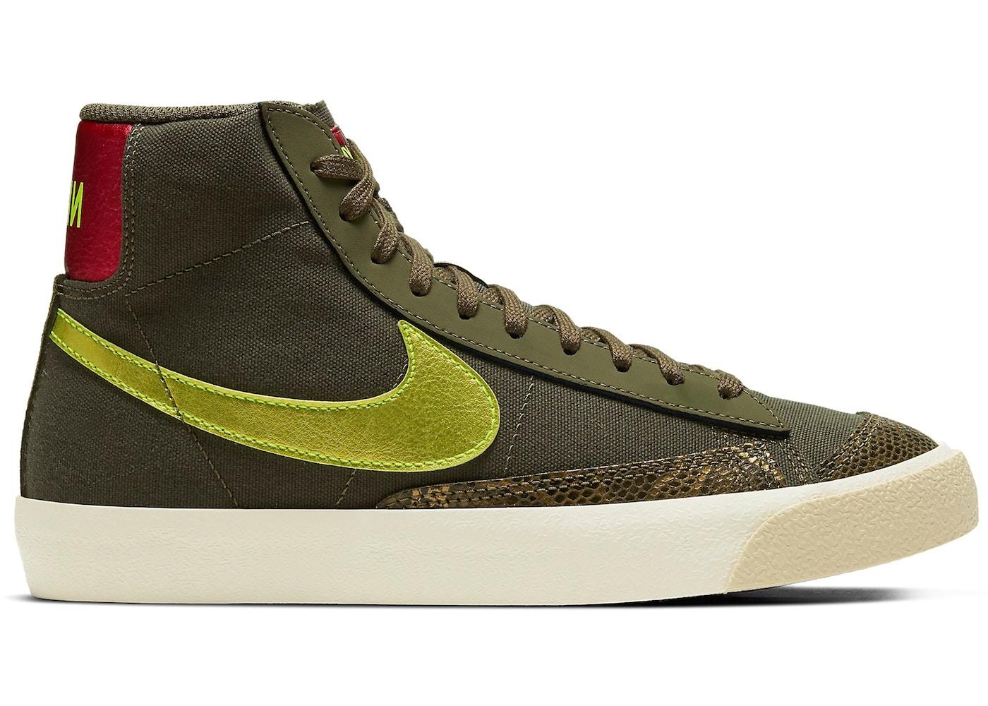 Nike Blazer Mid 77 Olive Snakeskin (W)