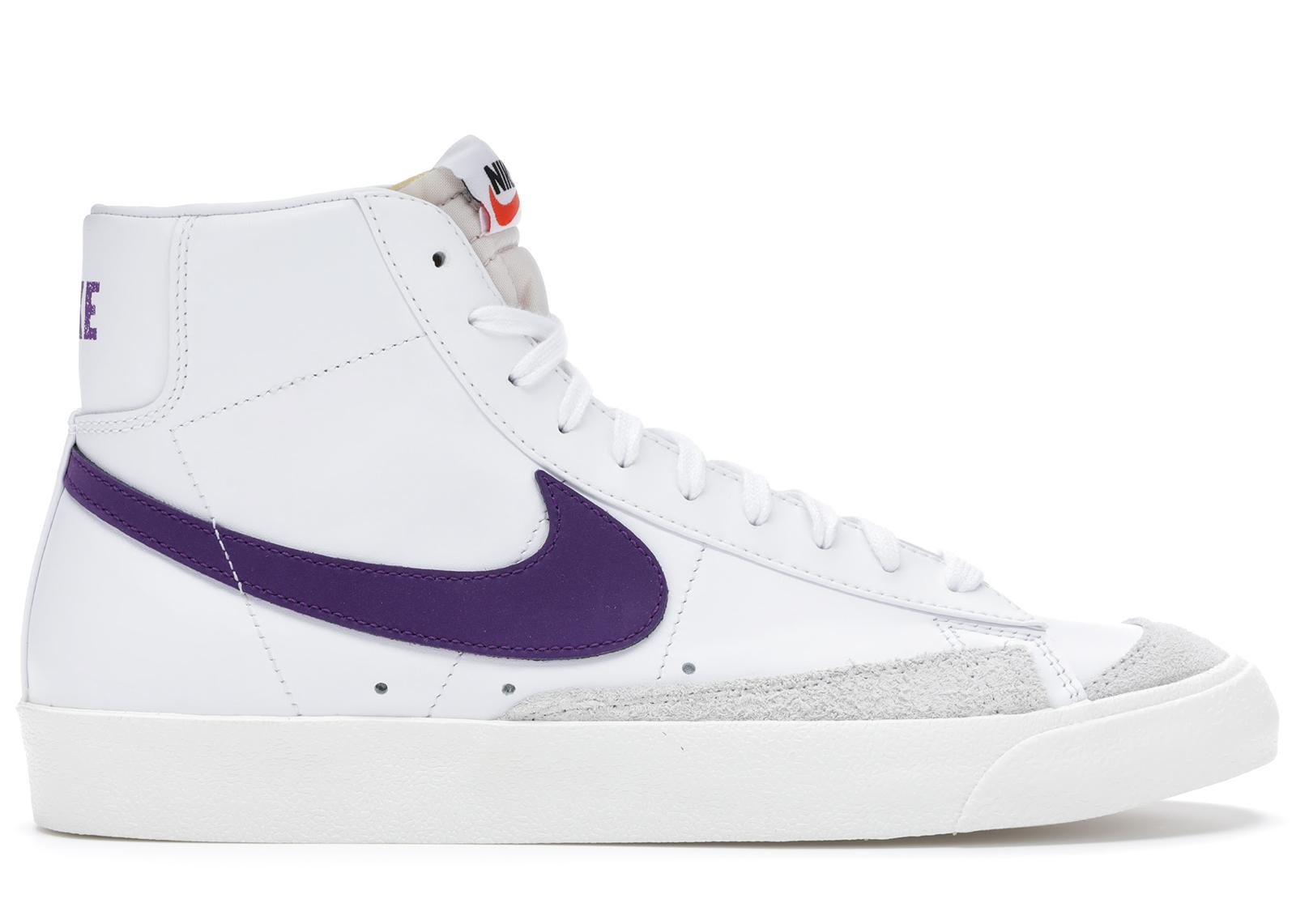 Nike Blazer Mid 77 Vintage White Voltage Purple