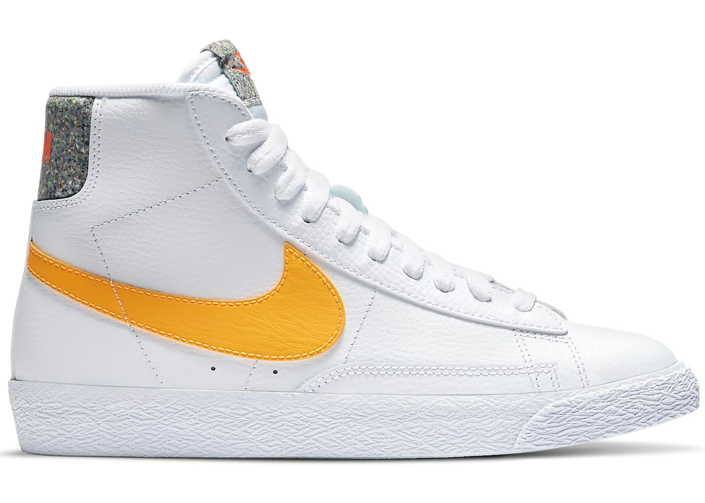 Nike Blazer Mid Grind White University Gold (GS)