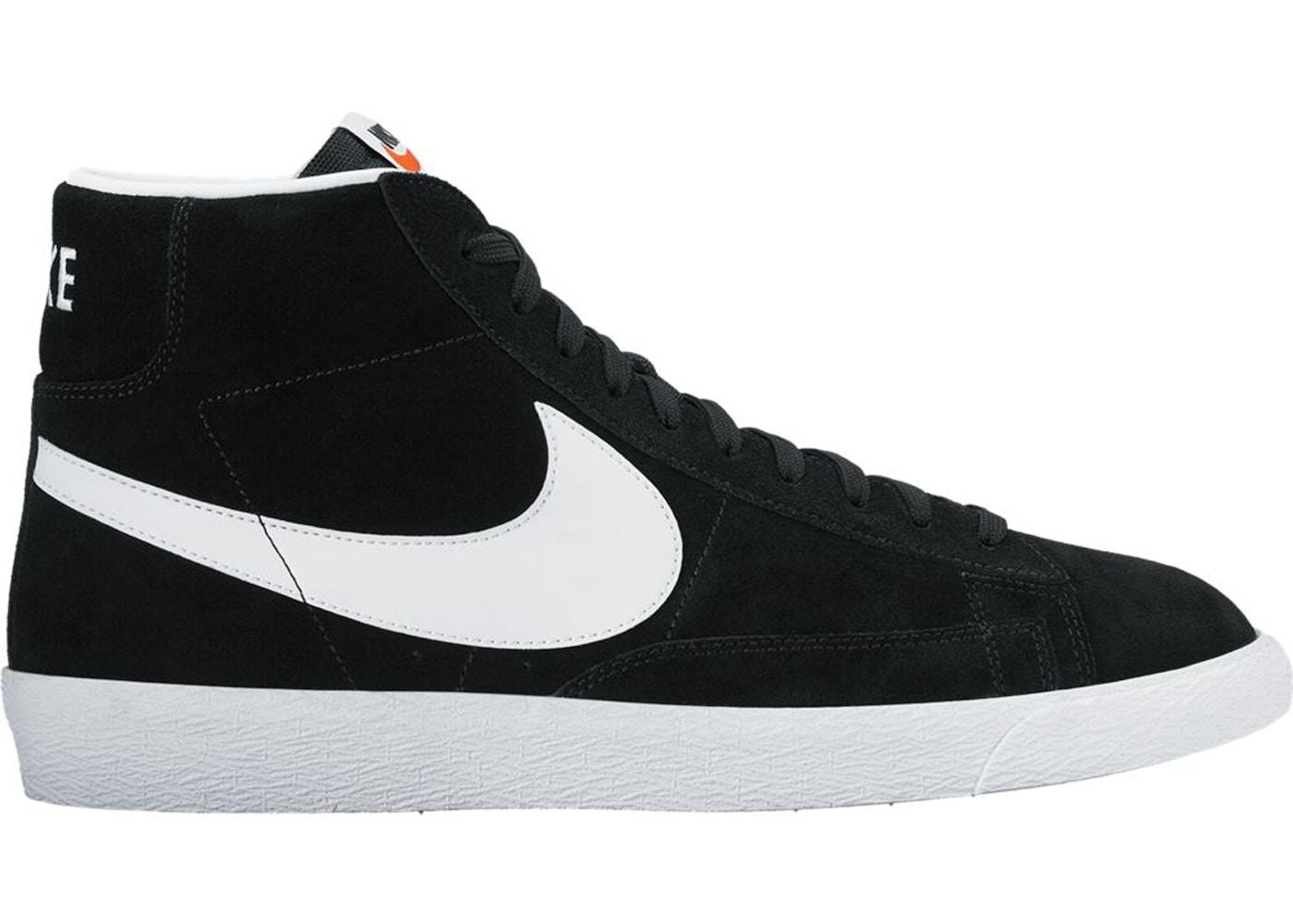 Nike Blazer Mid Premium Black White Gum