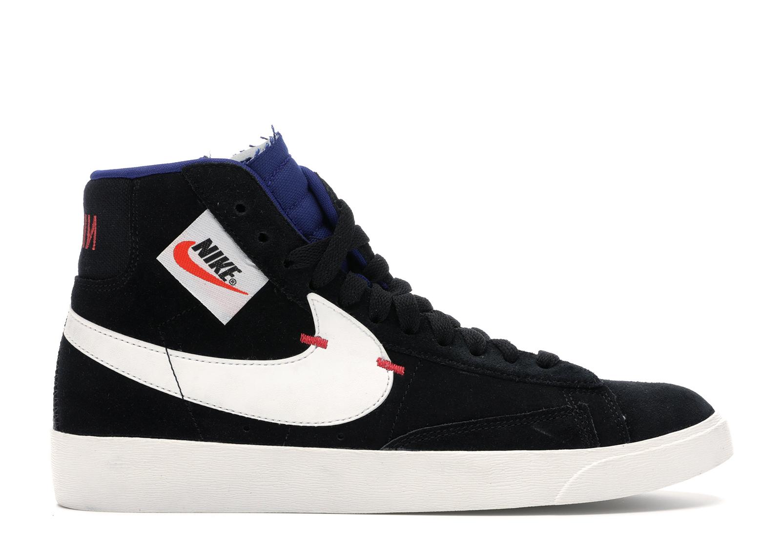 Nike Blazer Mid Rebel Deep Royal Black (W)