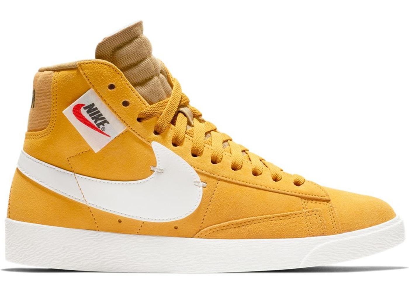 Nike Blazer Mid Rebel Yellow Ochre (W)