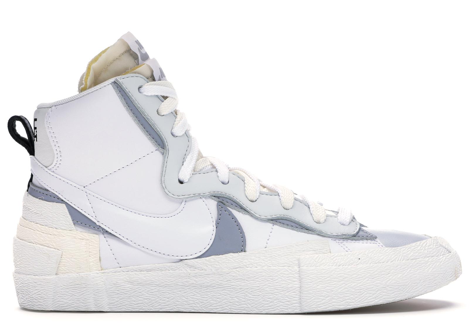 Nike Blazer Mid sacai White Grey - BV0072-100