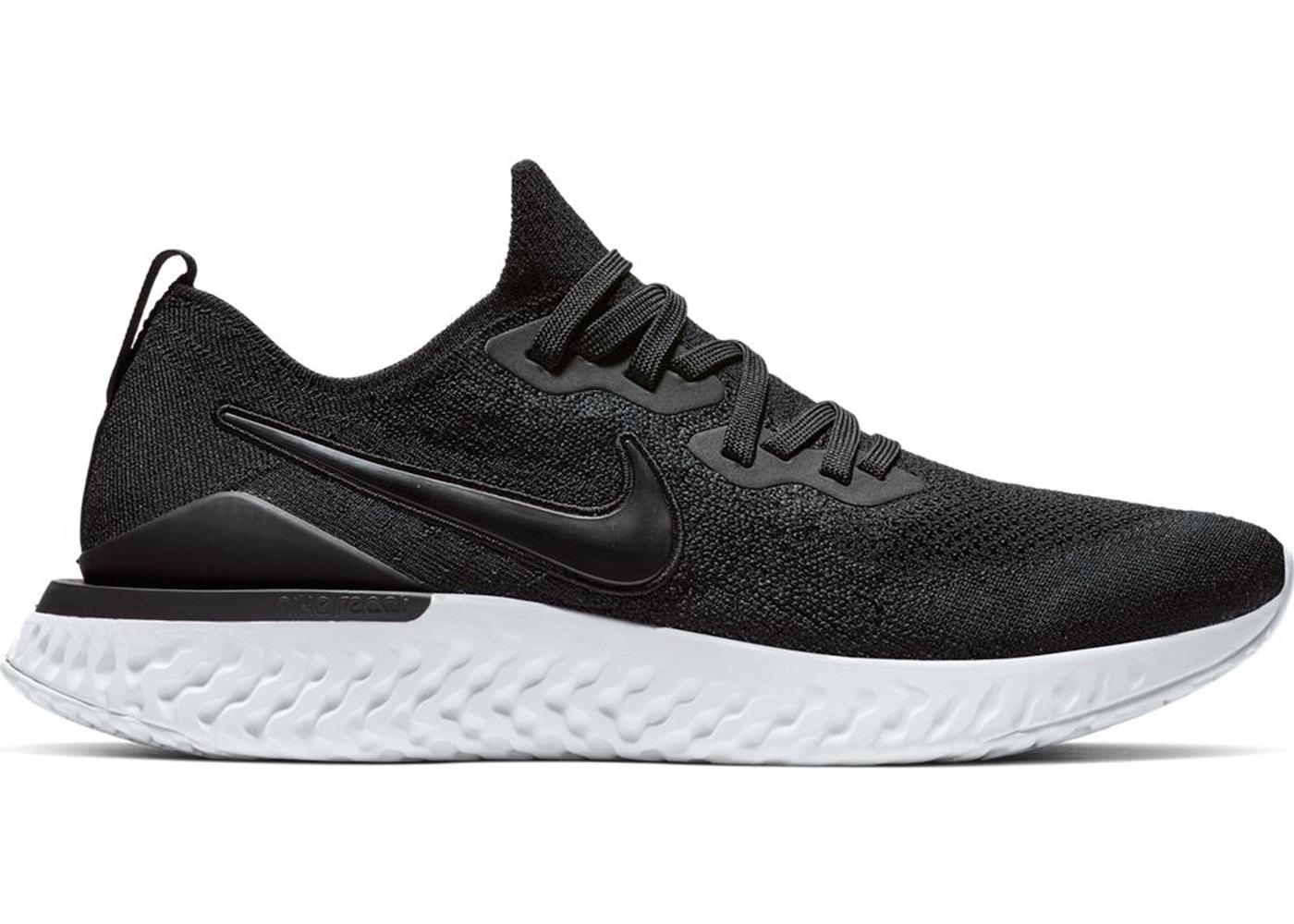Nike Epic React Flyknit 2 Black White - BQ8928-002