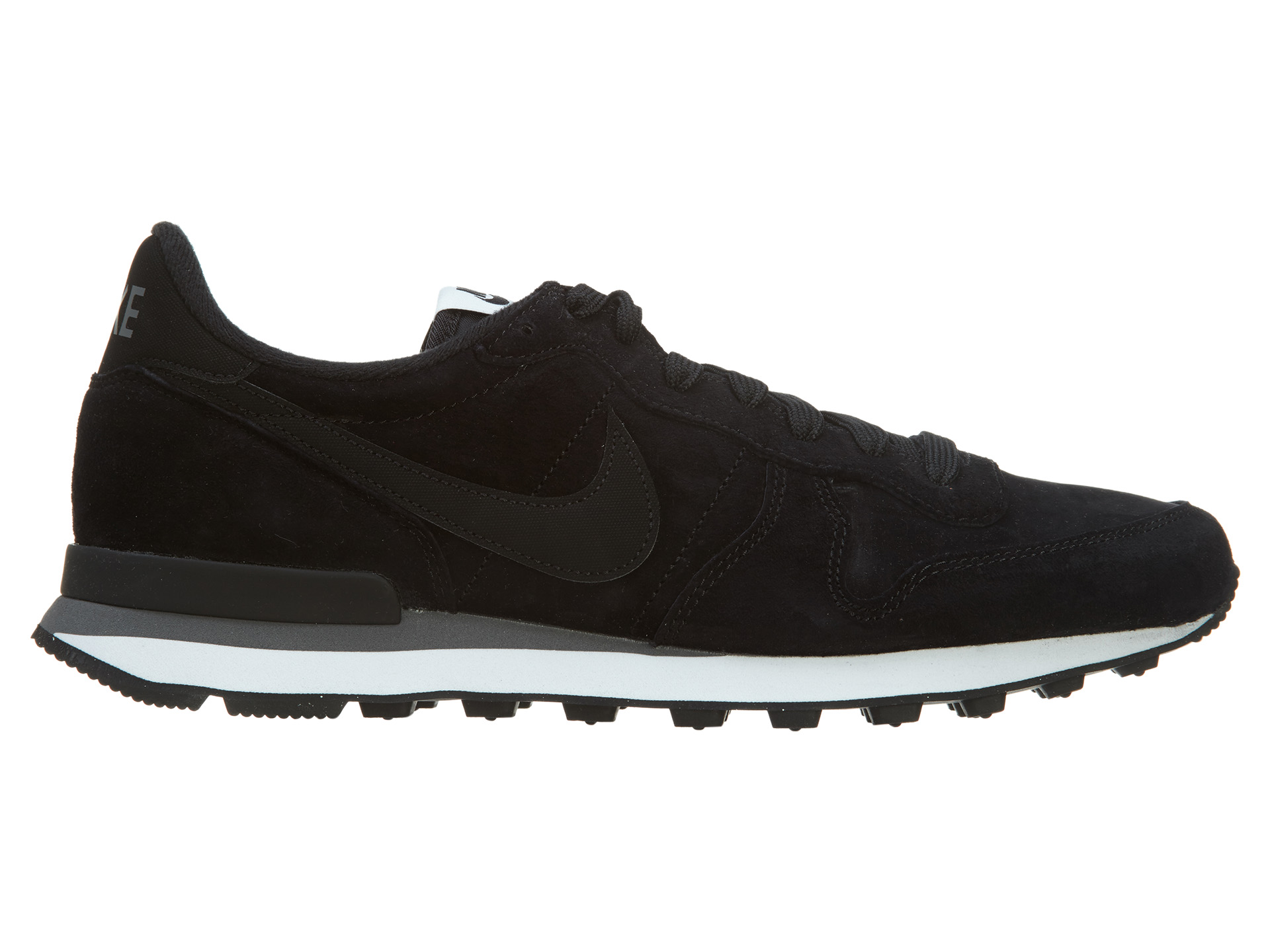Nike Internationalist Leather Black Black-Dark Grey-White - 631755-010