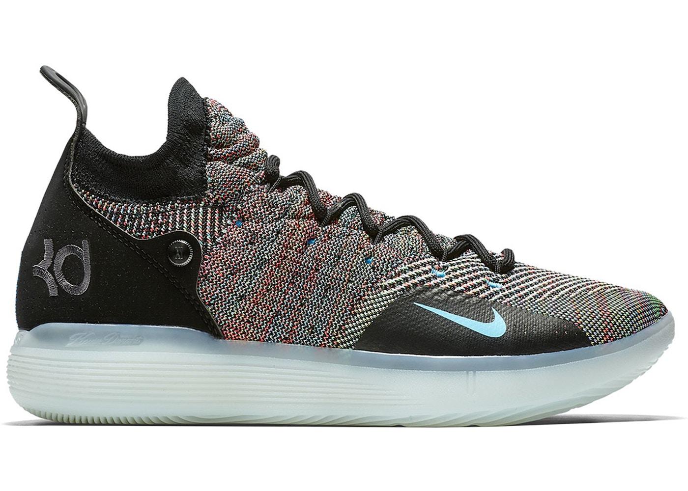 Predecir Mona Lisa índice  Nike KD 11 Multi-Color - AO2604-001/AO2605-001