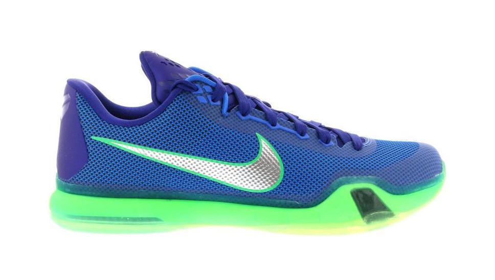 Nike Kobe 10 Emerald City - 705317-402