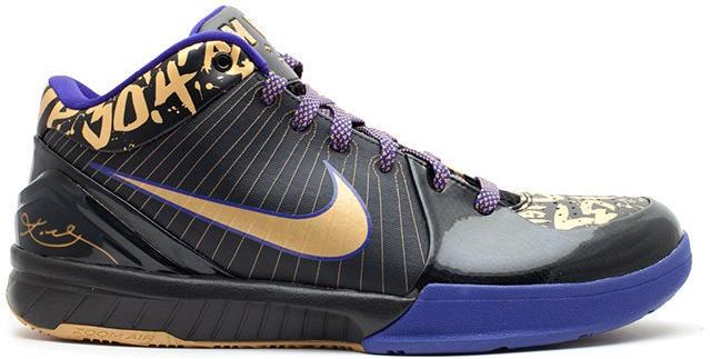 Nike Kobe 4 NBA Final MVP Away