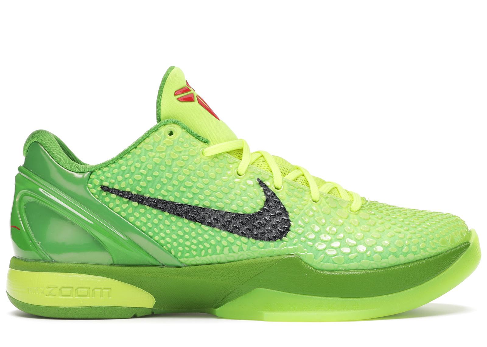 Nike Kobe 6 Protro Grinch (2020) - CW2190-300