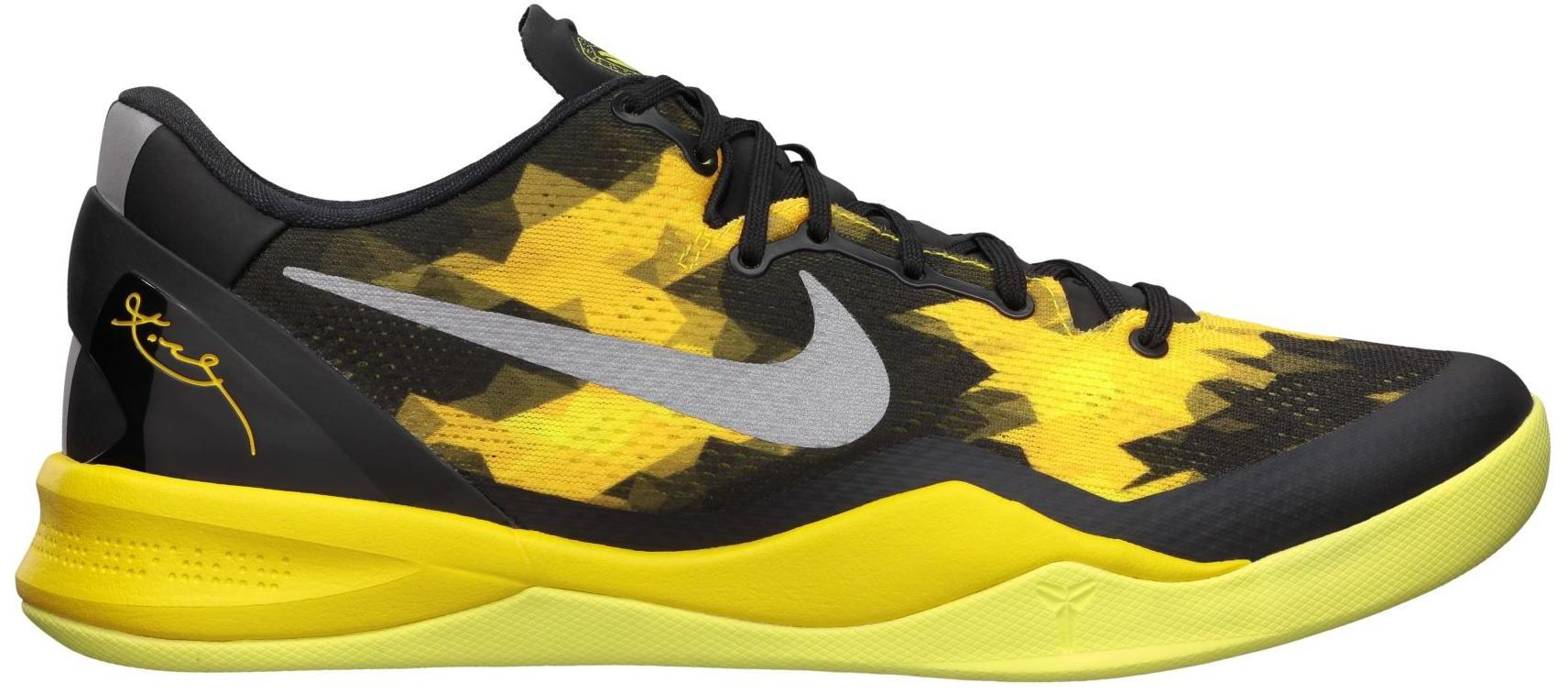 Nike Kobe 8 Sulfur / Electric - 555035-001
