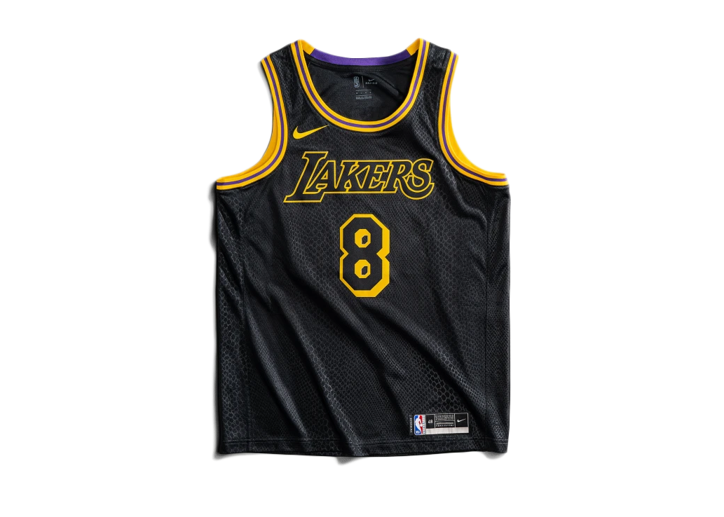 Basketball Jerseys Mamba Kobe Bryant #24 Los Angeles Lakers ...