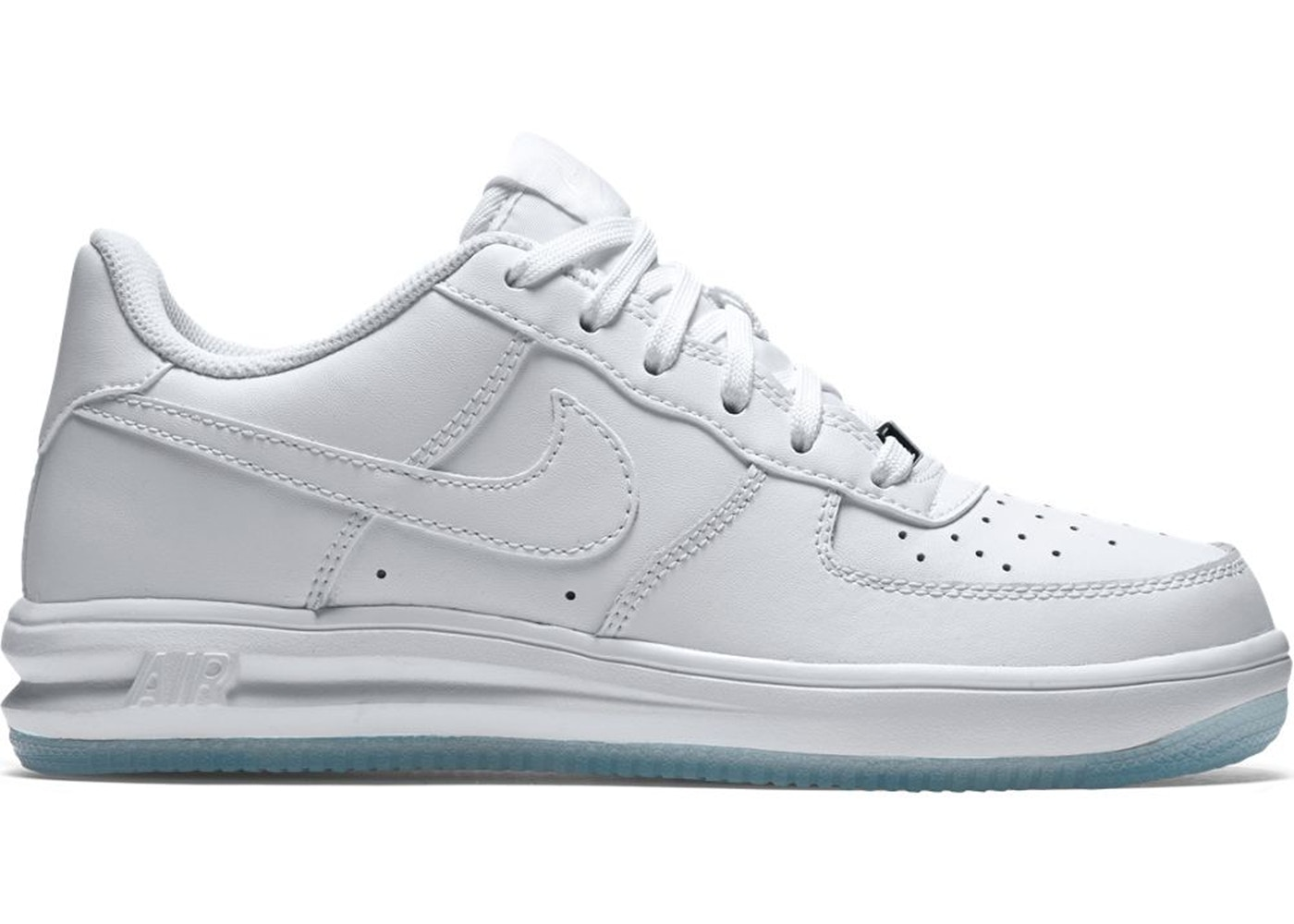 Nike Lunar Force 1 Low White Ice (GS) - 820343-100